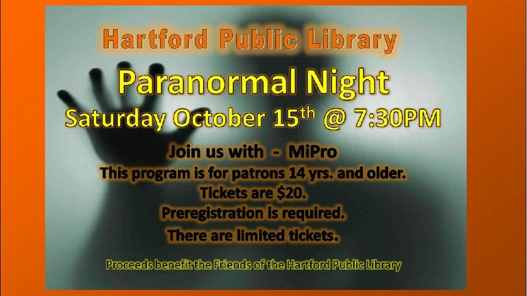 October Paranormal Event