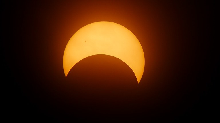 Watch the solar eclipse